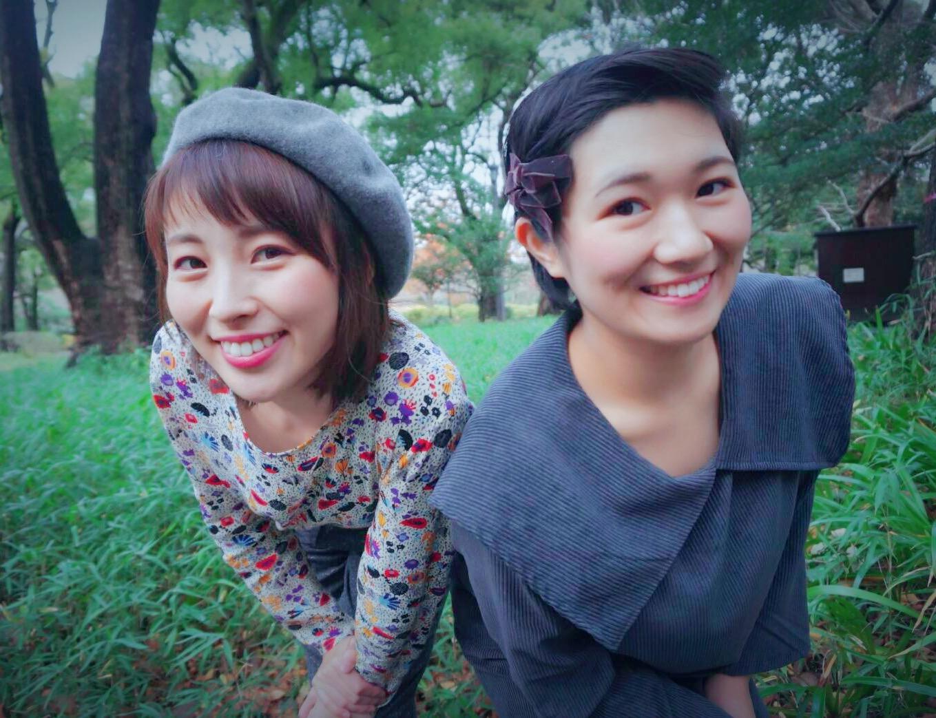 磯野 恵美(写真右)/野口綾子(写真左)